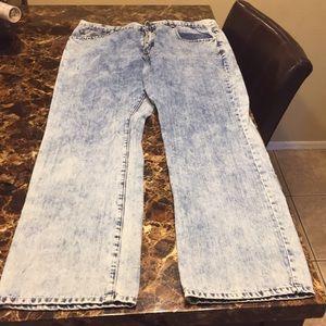 Classic fit rockswear blue jeans waist size 38